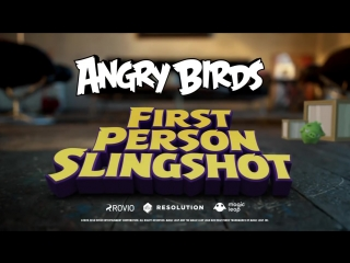 Angry birds fps (first person slingshot) - trailer