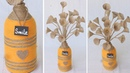 How to make flower vase from jute rope | Supper easy and quicky