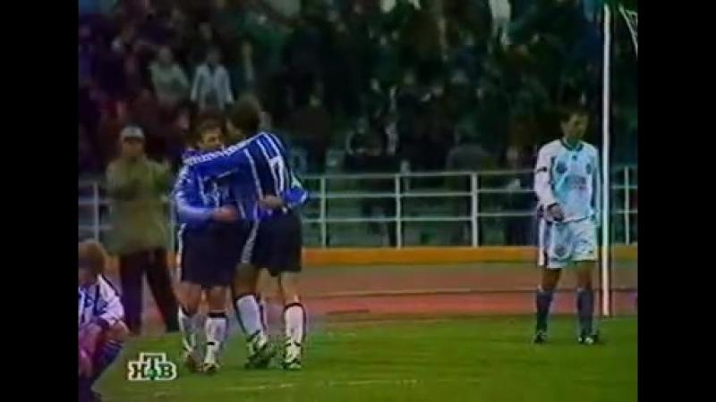 Олег Веретенников - мяч за волгоградский Ротор, 1998 год