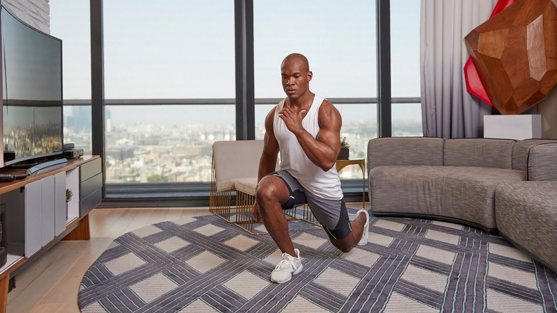 FM X AMEXPLATINUM: 10-MINUTE CARDIO WORKOUT WITH TIER X COACH SALADIN BUTLER