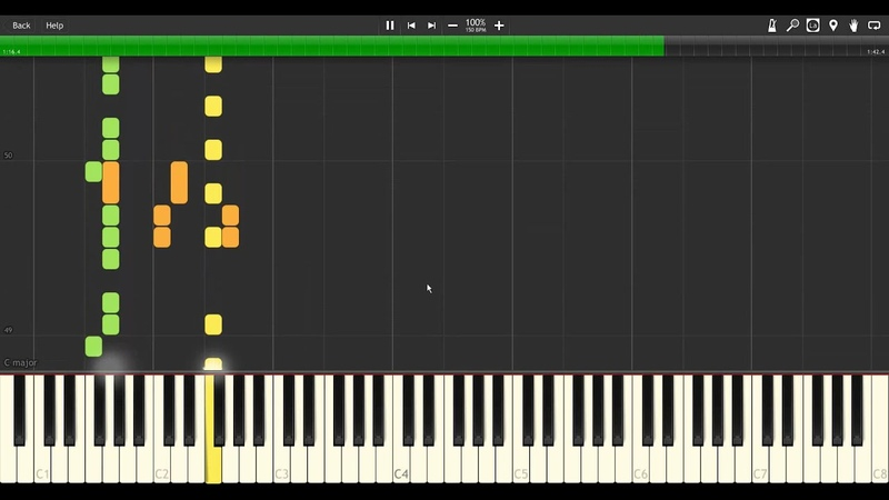 [Synthesia] Crash Bandicoot - N.Brio Theme