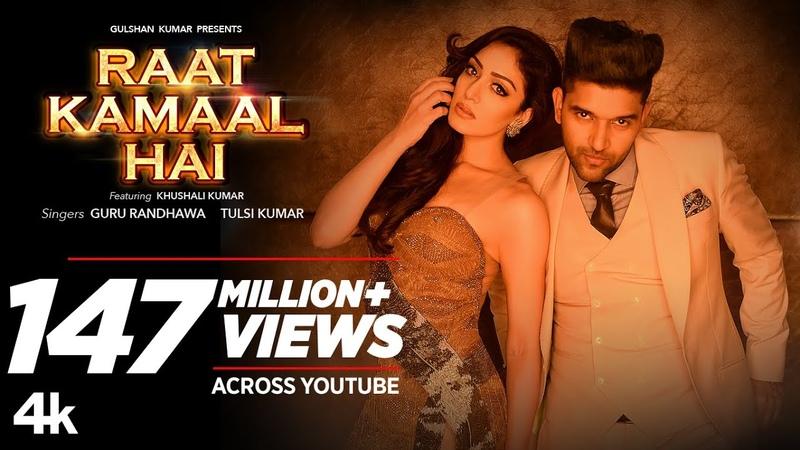 Official Video Raat Kamaal Hai | Guru Randhawa Khushali Kumar | Tulsi Kumar | New Song 2018
