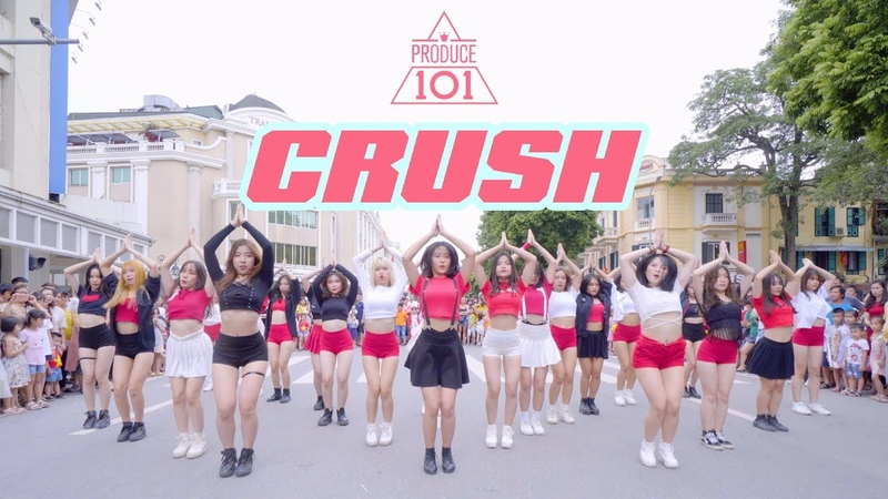 Produce101 (프로듀스101) - CRUSH (Final Stage) DANCE COVER by BLACK CHUCK