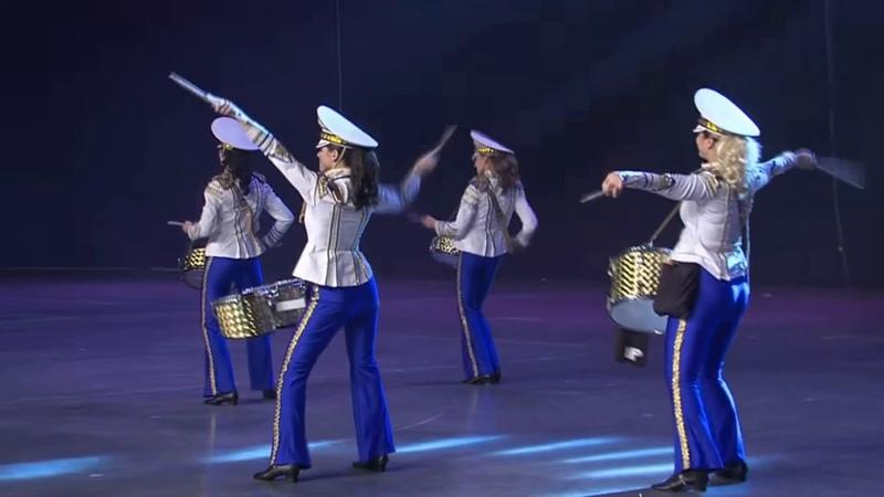 DrumLine Battle BALTIC Final Round Ukrainian Girls - Slovak Boys