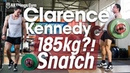 Clarence Kennedy 185kg?! Heavy Snatch Session (Thursday Part 1)
