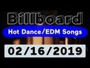 Billboard Top 50 Hot Dance/Electronic/EDM Songs (February 16, 2019)