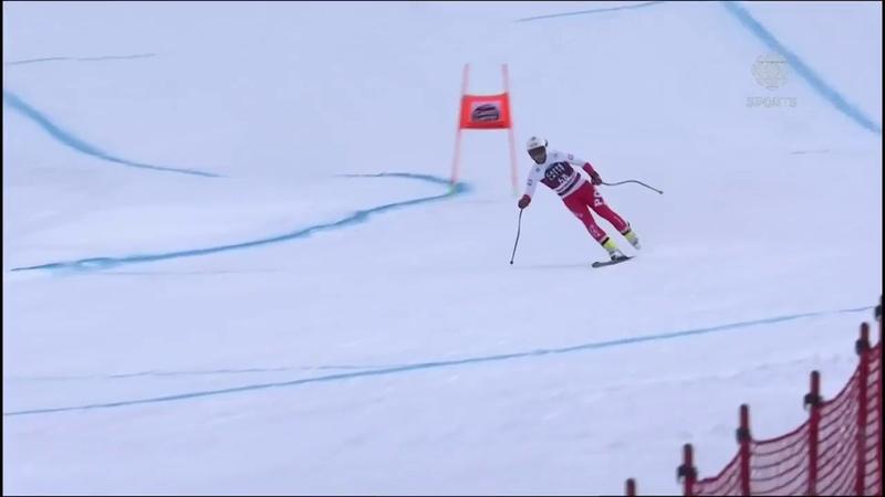 Швидкісний спуск на одній лижі