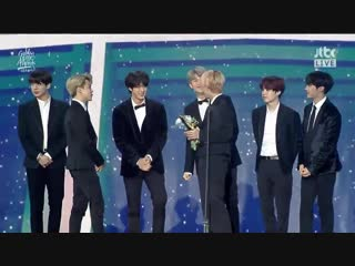 190105 The 33rd Golden Disc Awards Day 1 - - 2019 Global VLIVE Top 10 Best Artist - - BTS