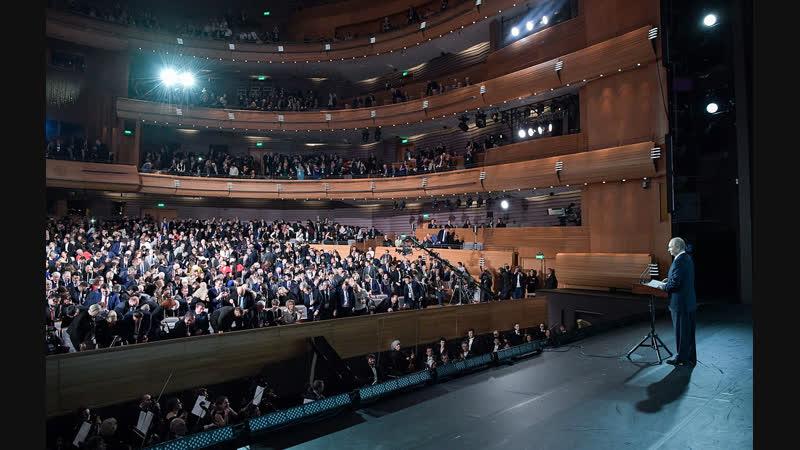 Владимир Путин выступает на VII Санкт-Петербургском международном культурном форуме