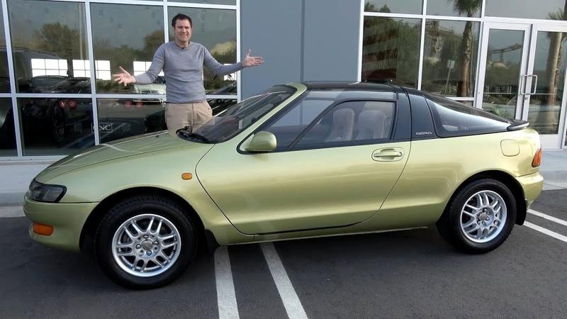Вот почему Toyota Sera была самой странной Toyota 90-х