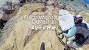 He overtakes 118 riders MEGAVALANCHE QUALIFIER Alpe d'Huez France Damien Desbrosses run