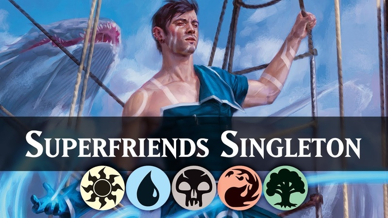 5 Colours 5 Wins Singleton Superfriends Deck Guide MTG ARENA