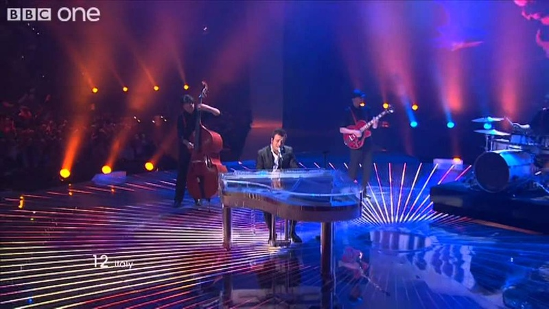 Italy: Madness of Love, Raphael Gulazzi - Eurovision Song Contest Final 2011 - BBC One