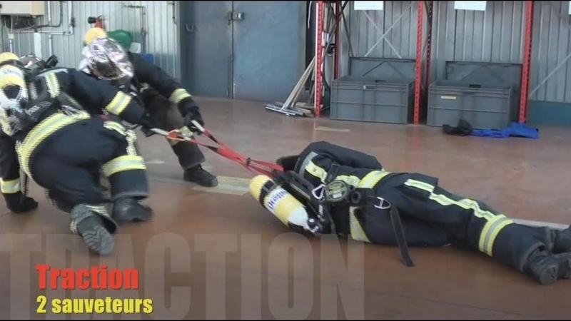 Rhinoevac sauvetage de sauveteur auto sauvetage sangle pompier