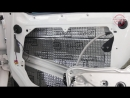 VW Multivan Шумоизоляция дверей