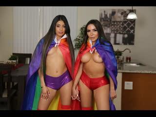 Veronica Rodriguez Lela Star [PornMir, ПОРНО, new Porn, HD 1080, Lesbian, Squirt, Anal Play, 69, Latina, Big Tits]