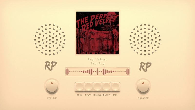 Red Velvet 레드벨벳 'Bad Boy' | [RP] LoFi Music Cover