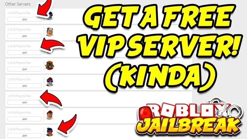 Roblox Jailbreak HOW TO GET A FREE VIP SERVER!! (Kinda) | Roblox Extension
