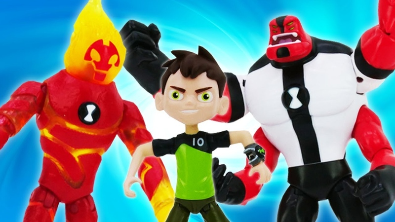 All Ben 10 toys: Superheroes toys for kids - Ben 10 full episodes