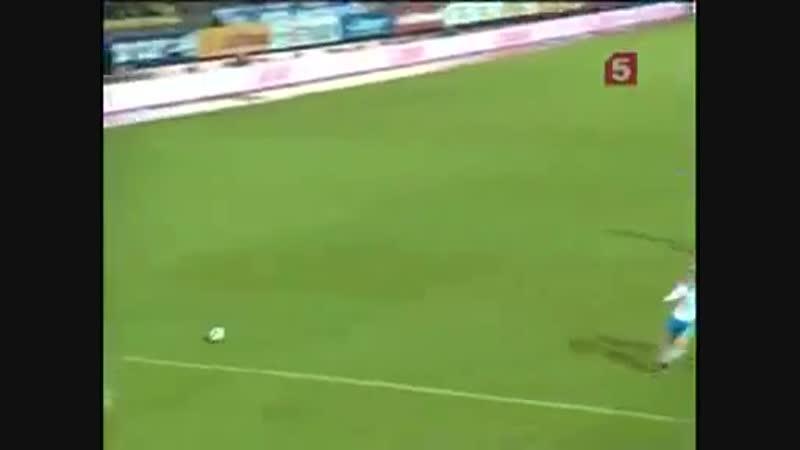 Зенит 2-0 Терек 08.11.2009 Премьер-Лига