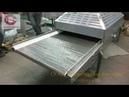 Сетчатый конвейер для удаления влаги с продукта семечки