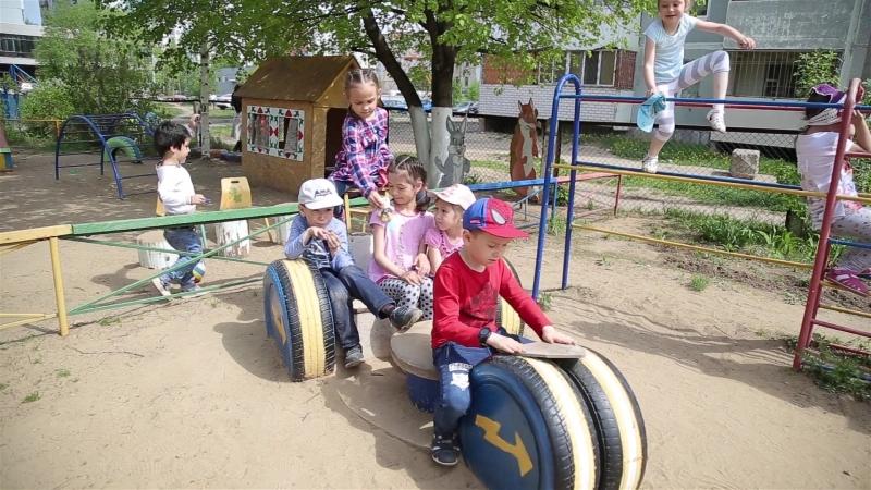Один день в детском саду Родничок