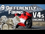 9 Differently Firing V-4 Engines