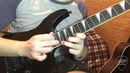 Лик мне запилил DP Guitar Lick 1 Jason Becker Jeff Loomis Style
