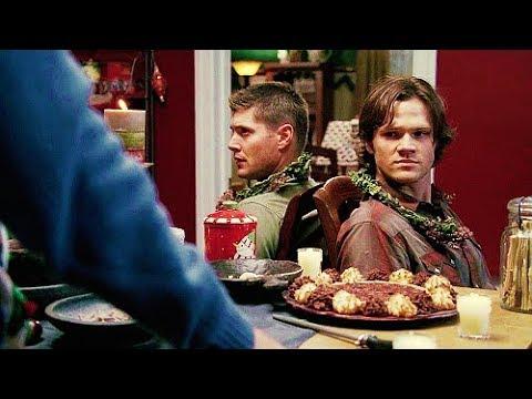 Сэм и Дин спасают Рождество Свехестественное Supernatural