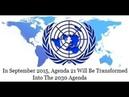 🔥 ►Que cachent l'Agenda 21 et l'Agenda 2030 des Nations Unies