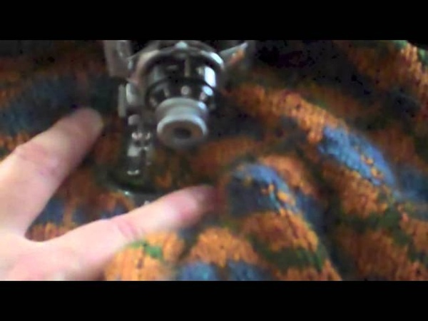 Sewing and Cutting Steeks