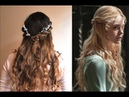 Disneys Princess Aurora Twistback Hair Tutorial- Maleficent