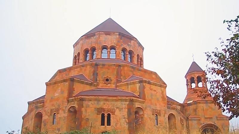 Степанакерт - Лето 2018 (Нагорный Карабах, Арцах) С высоты птичьего полёта (Ստեփանակերտ) Stepanakert