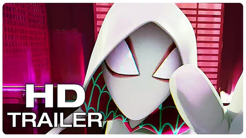 SPIDER-MAN INTO THE SPIDER-VERSE Save Gwens Home Trailer (NEW 2018) Animated Superhero Movie HD