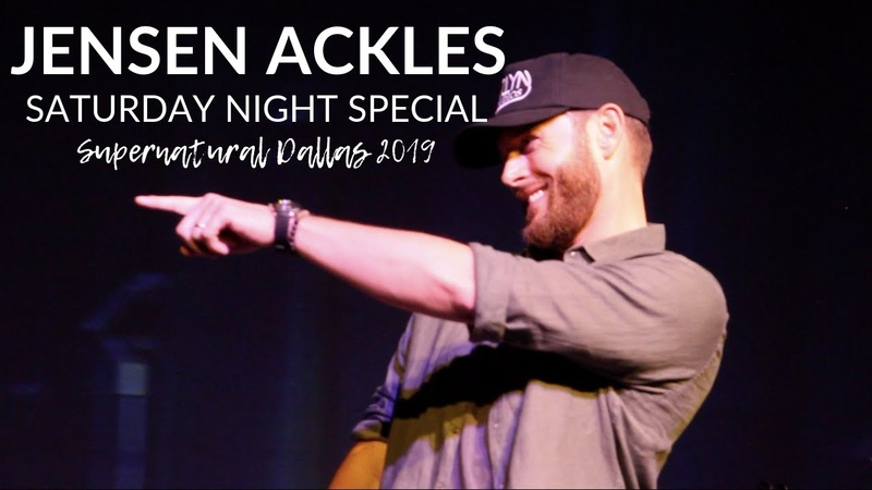 JENSEN ACKLES FULL SNS PERFORMANCE (Heaven Midnight Trian to Memphis) | Supernatural Dallas 2019