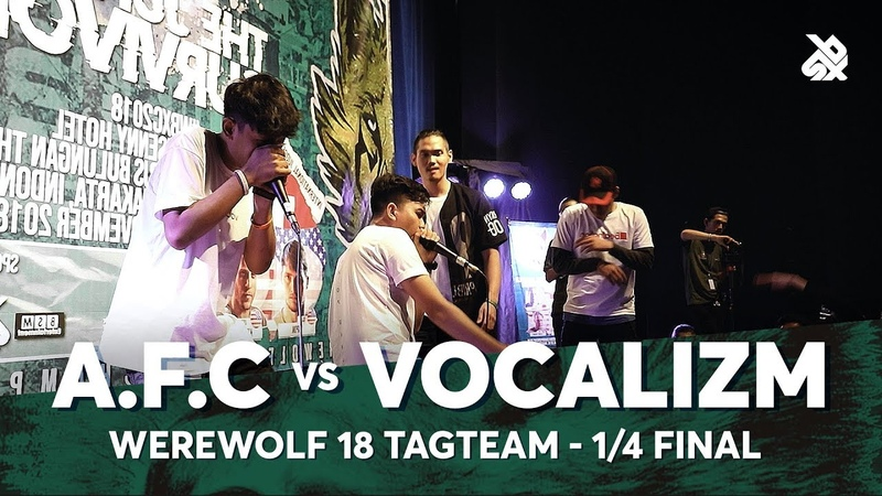 A.F.C vs VOCALIZM | Werewolf Tag Team Beatbox Championship 2018 | 14 Final