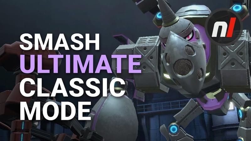 Smash Ultimate Classic Mode Galleom Boss Battle Gameplay