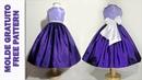 Vestido de Festa em Tafetá 4 a 9 anos