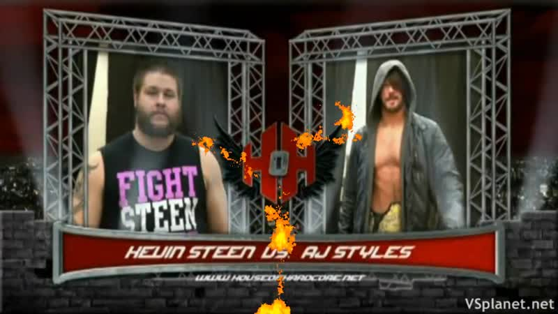 HOH AJ Styles vs Kevin Steen 2014 Highlights
