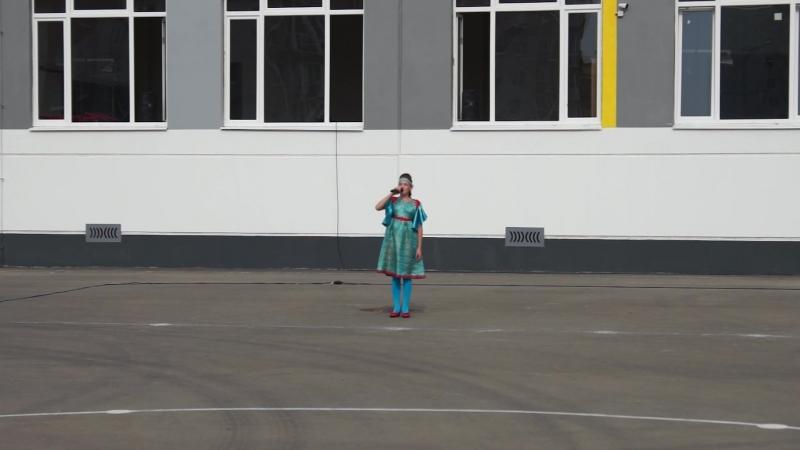 Марфа Николаева 11 лет Великий Новгород Красно солнышко сентябрь 2018
