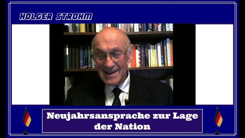 03.01.2019: Holger Strohm zur Lage der Nation - Neujahrsansprache