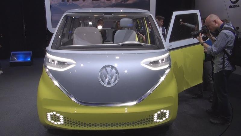Volkswagen I.D. Buzz (2018) Exterior and Interior