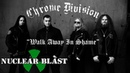CHROME DIVISION - Walk Away In Shame OFFICIAL LYRIC VIDEO