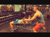 Bench press 50kg2 x 5+3