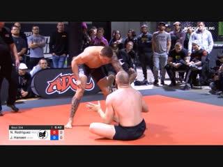 Nick rodriguez vs john hansen 2019 adcc north american trials #adcctrials19