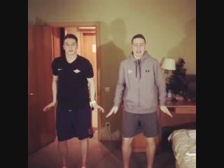 Егор Кузьменко и Захар Шабловский (Спартак) #танцуюсмхл