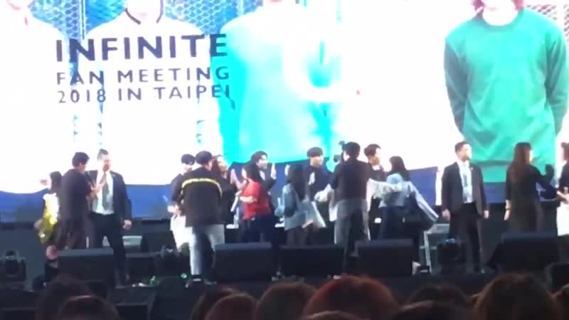 Our hi-touch with Infinite!