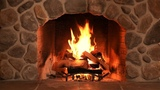 TV Fireplace with Relaxing Crackling Sounds of Wood Burning - 10 Hours - High Definition Audio