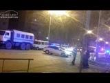 Попытка теракта в Тюмени? Полиция, МЧС, ОМОН, БТР - задержание террористов.