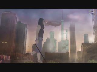 Mega-Ryung 01 - Interdimensional giantess